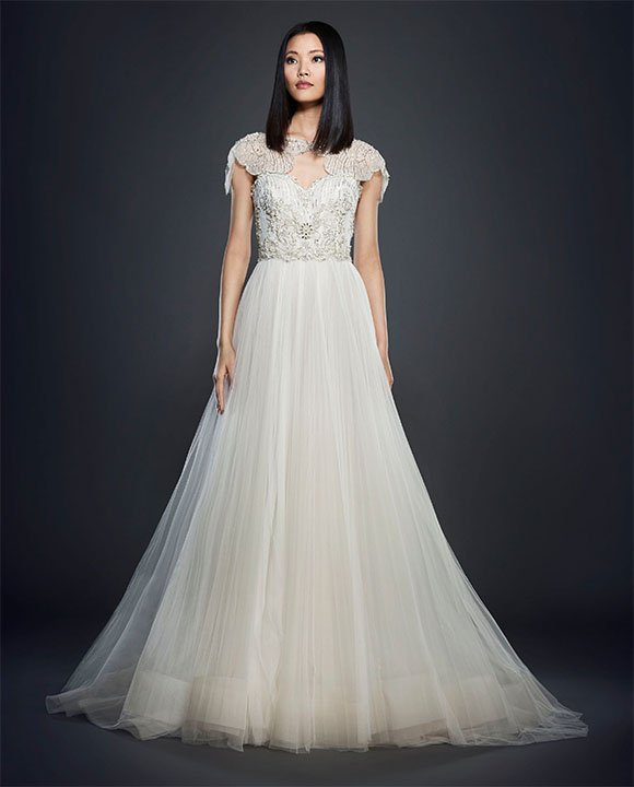 lazaro wedding dress the bridal collection