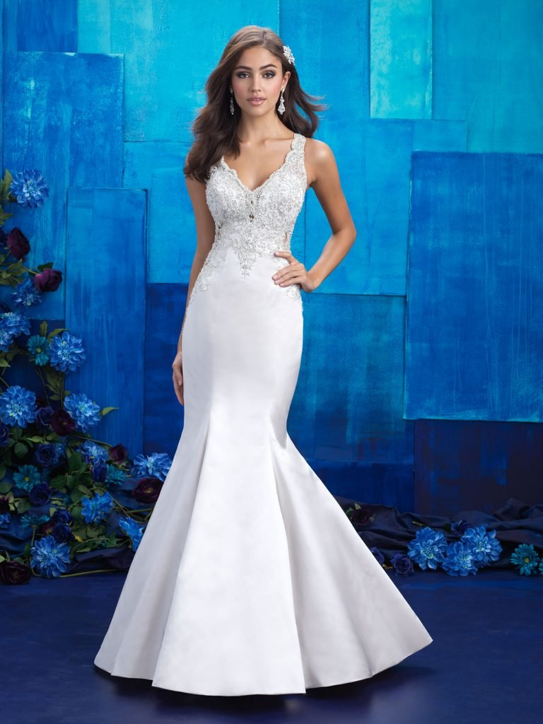 2017 allure bridal wedding gown