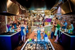 denver bachelorette party idea stir cooking school