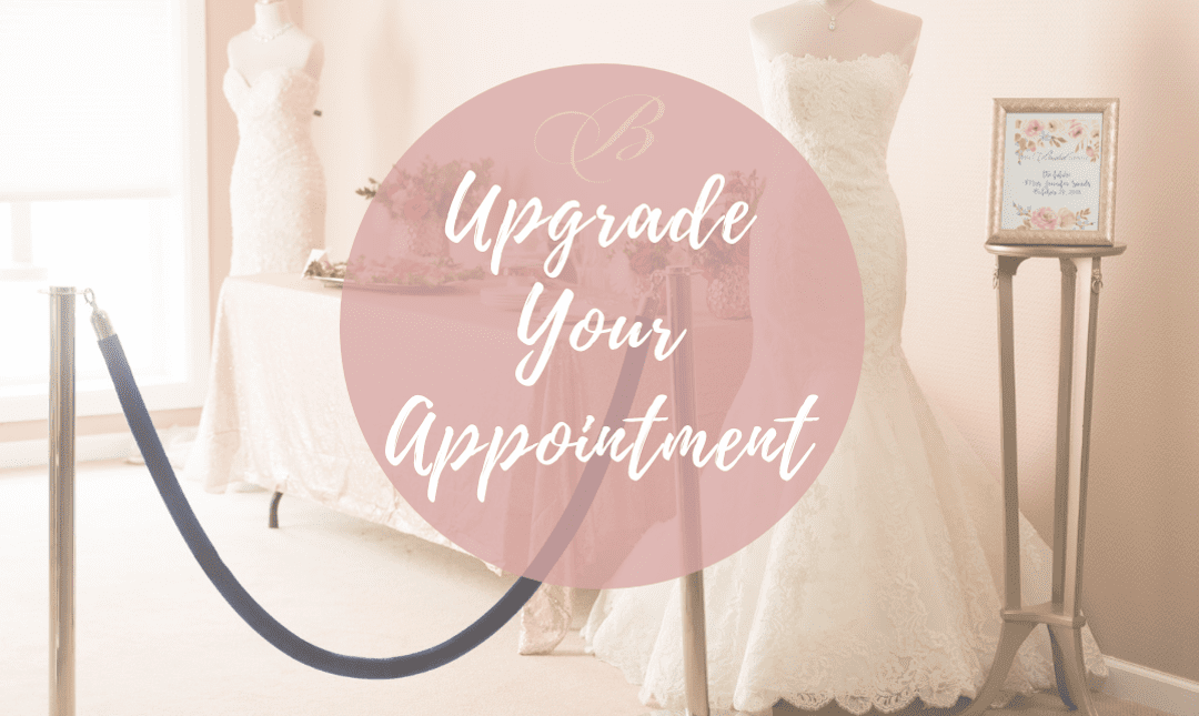 upgrade your appointment