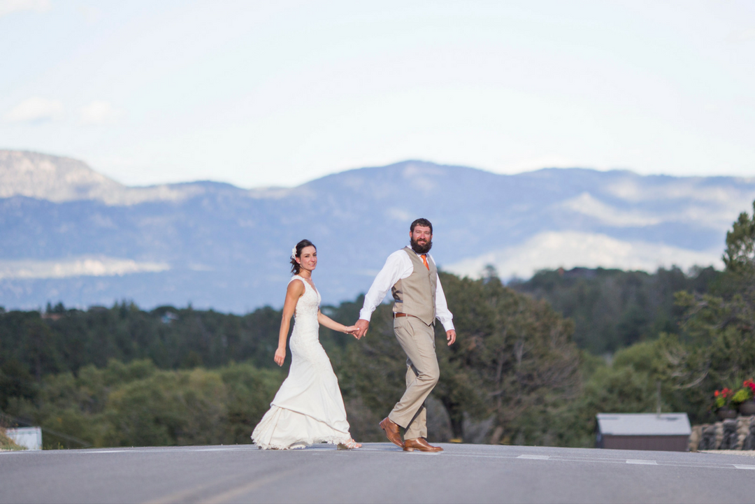 wedding in the Colorado mountains
