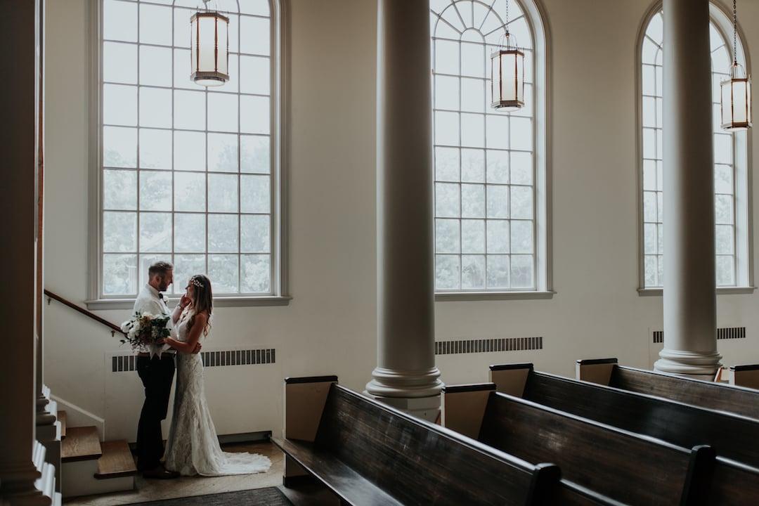 Park Church Denver Wedding | The Bridal Collection Real Bride