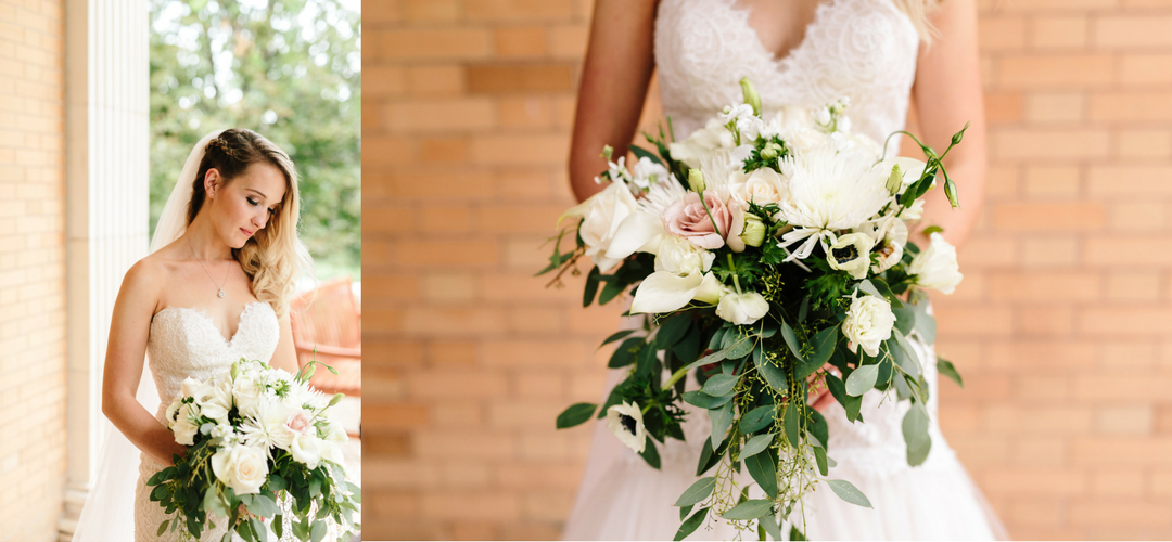 colorado bridal bouquet at grant-humphrey's mansion wedding