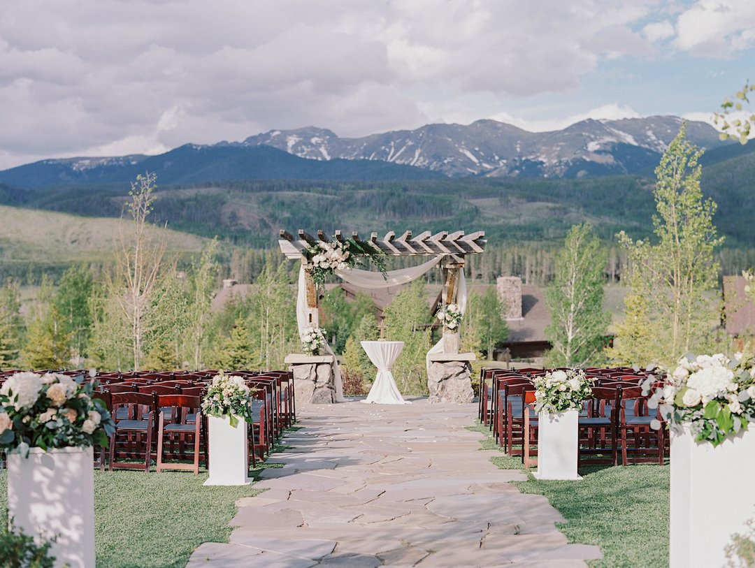 devils thumb ranch colorado mountain wedding venues