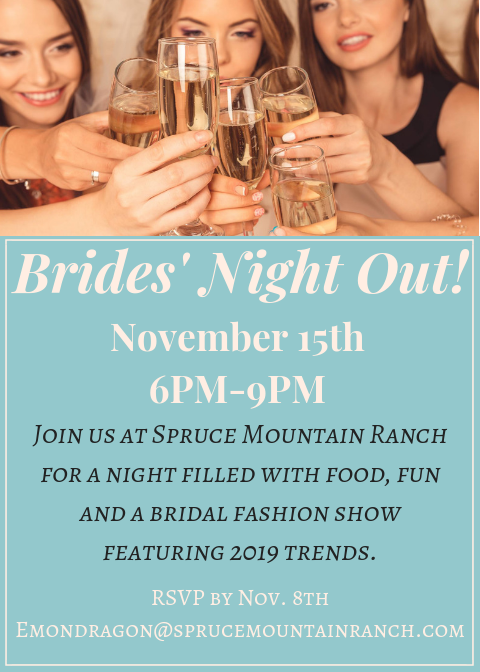 brides night out flyer