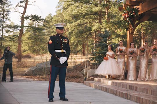 estes park wedding ceremony