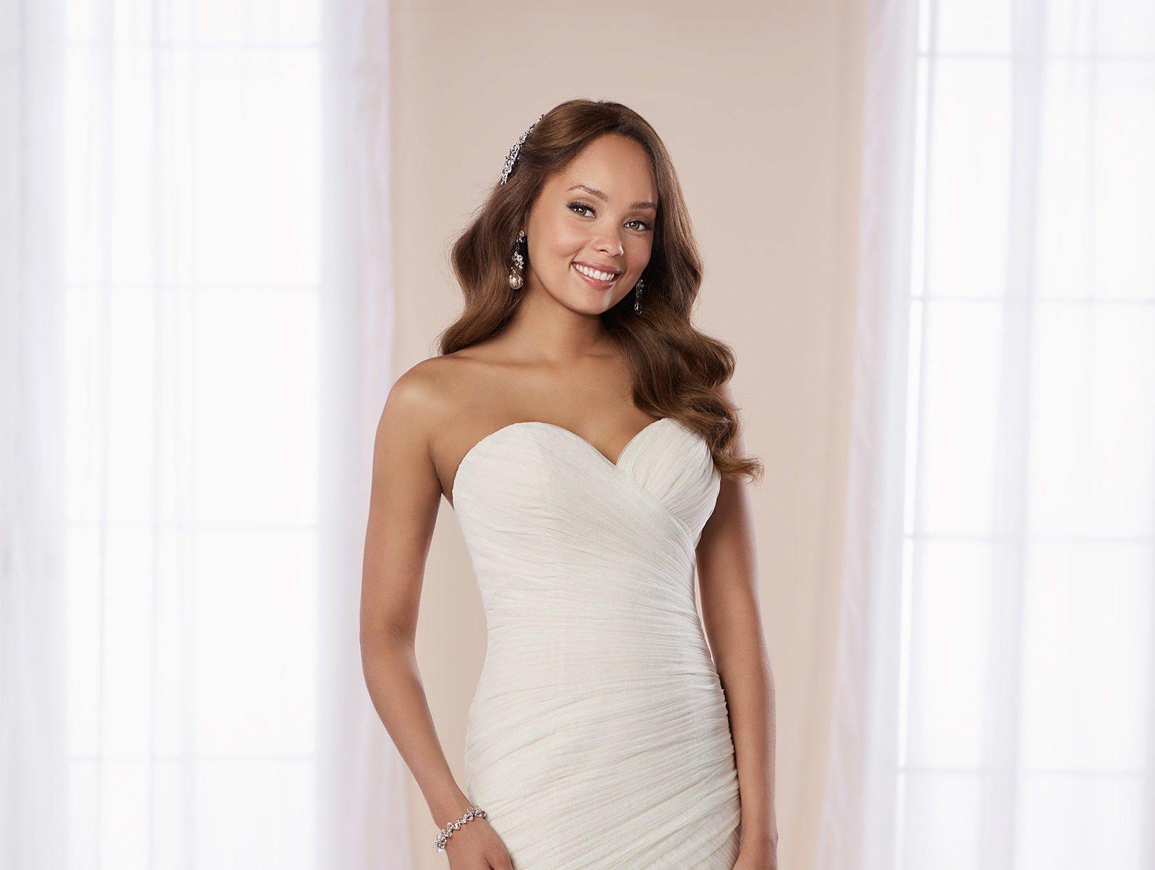 stella york wedding dress at the bridal collection denver colorado