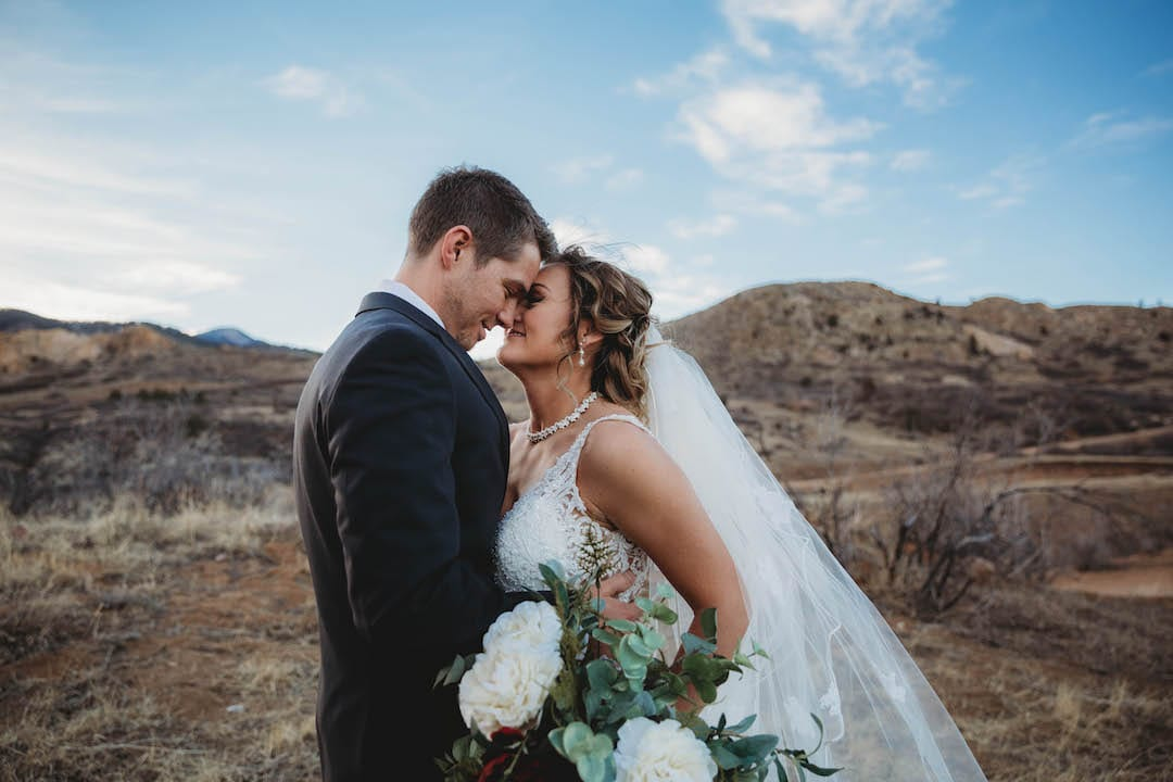 Rustic Lace Barn Wedding In Colorado Springs Colorado The Bridal Collection