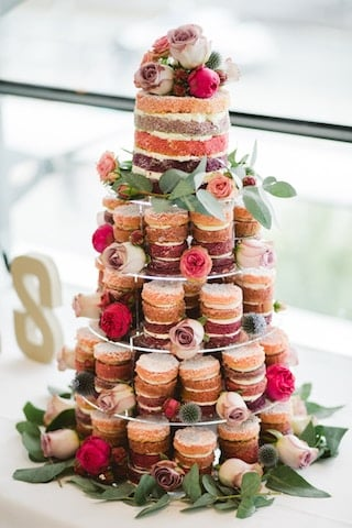 wedding dessert tower