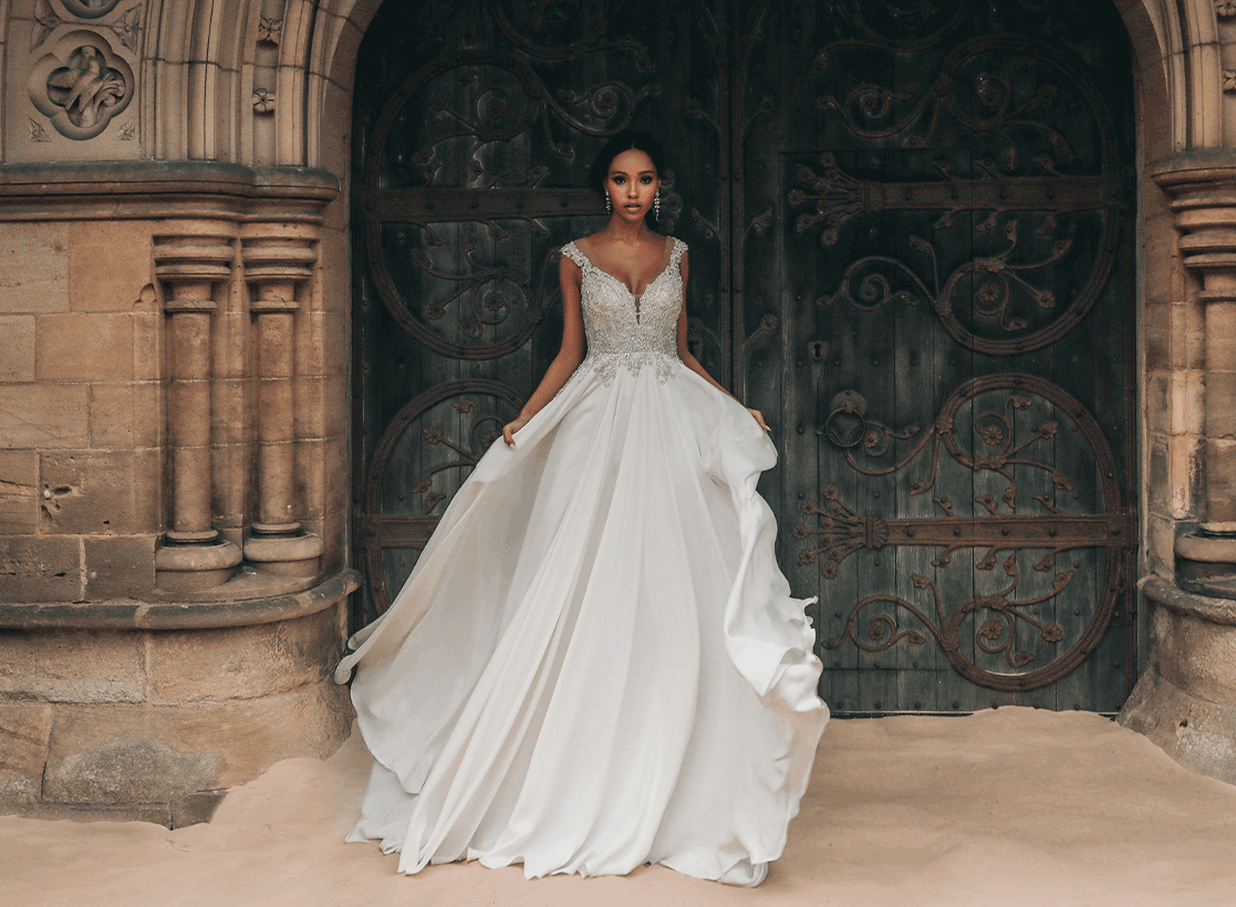 Jasmine Disney Fairy Tale Wedding Dress