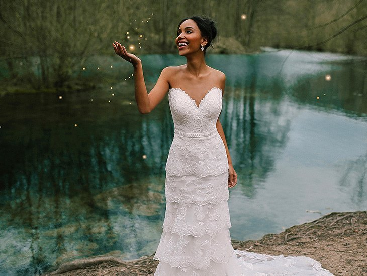 Tiana Wedding Gown, Disney Fairy Tales Collection